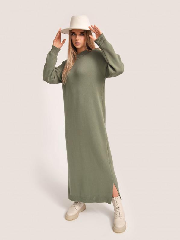Платье-миди, вязанное D10198034