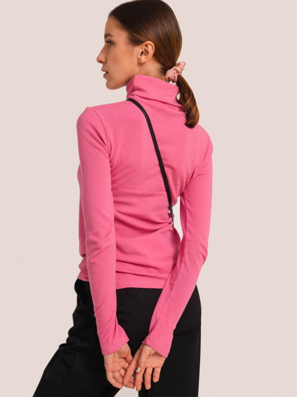 Кофта-гольф, розовый D10274023