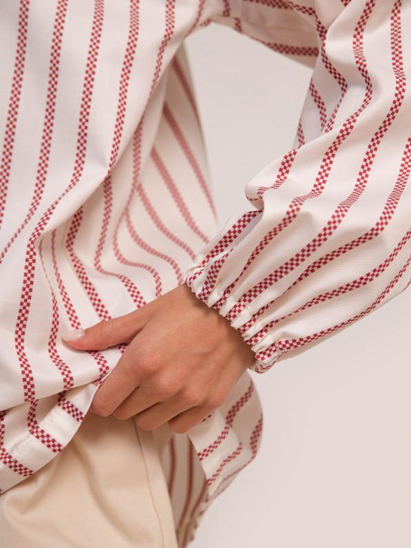 Блузка «Смужка червона» D11101010
