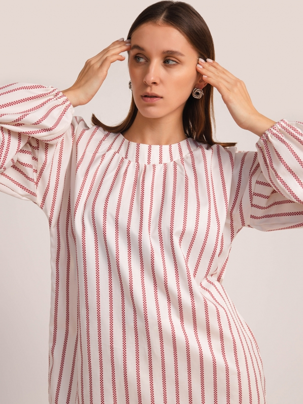 Блуза «Полоска красная»